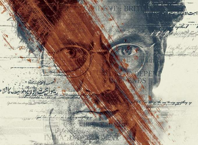 "Poster for the movie ""Manto"""