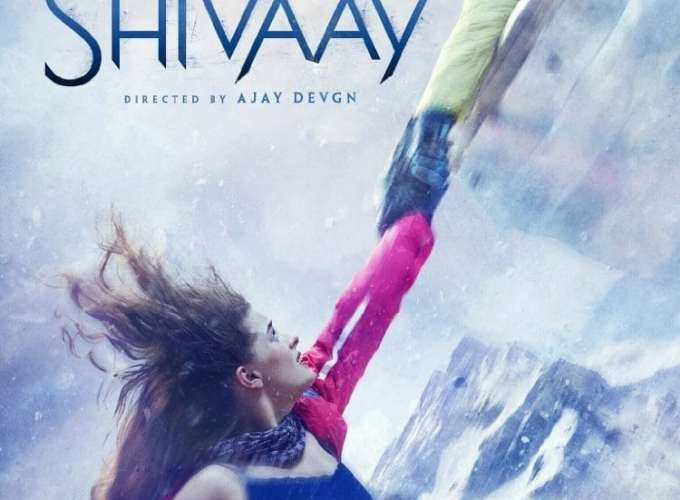 """Poster for the movie """"Shivaay"""""""