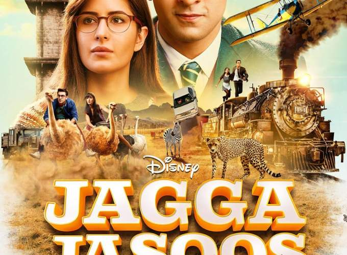 """Poster for the movie """"Jagga Jasoos"""""""