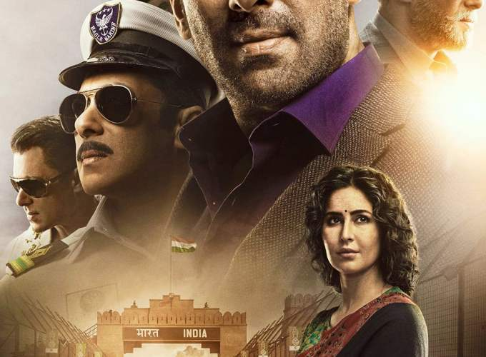 "Poster for the movie ""Bharat"""