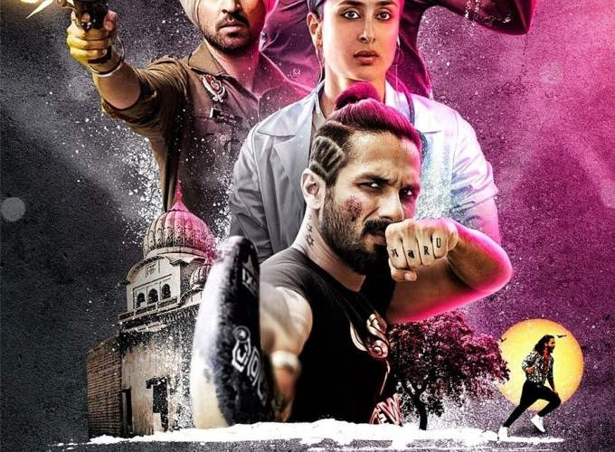"Poster for the movie ""Udta Punjab"""