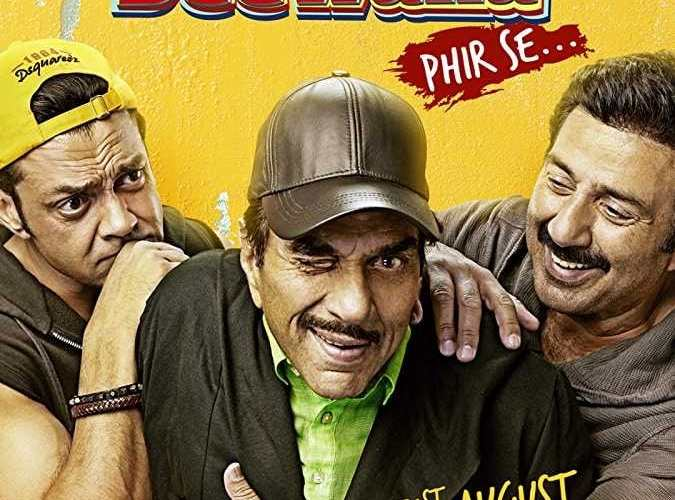 "Poster for the movie ""Yamla Pagla Deewana: Phir Se"""