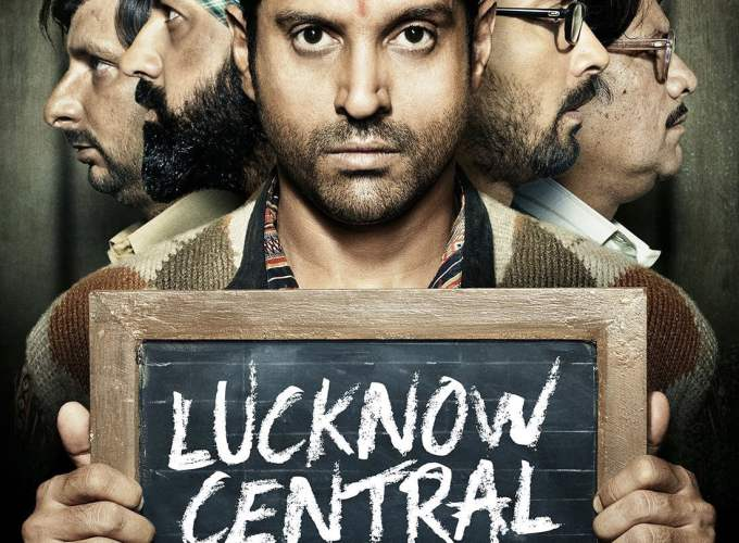 "Poster for the movie ""Lucknow Central"""