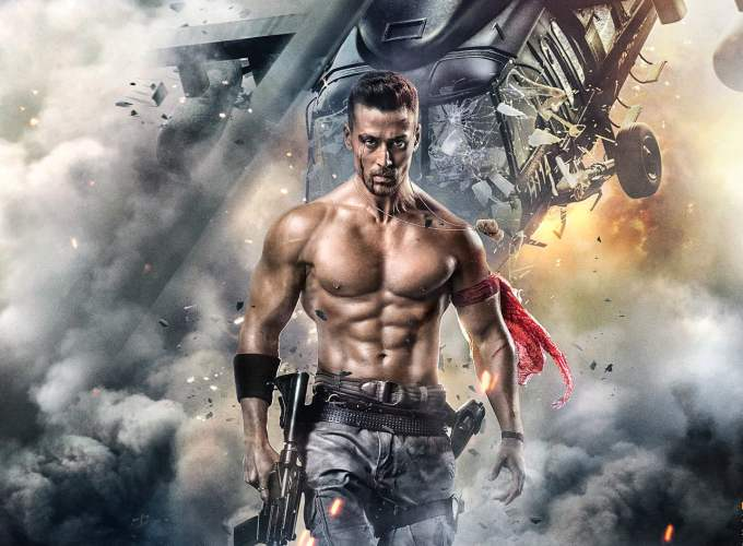 """Poster for the movie """"Baaghi 2"""""""