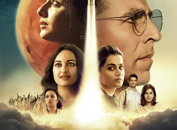 """Poster for the movie """"Mission Mangal"""""""