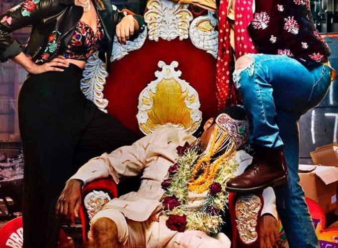 "Poster for the movie ""Jabariya Jodi"""