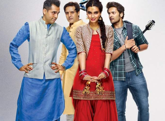 "Poster for the movie ""Happy Bhag Jayegi"""