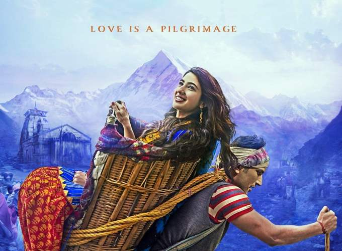"Poster for the movie ""Kedarnath"""