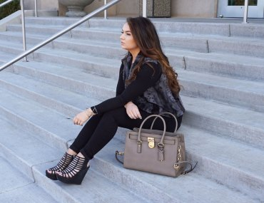Pop of Taupe - SoFitSoPretty - Fashion