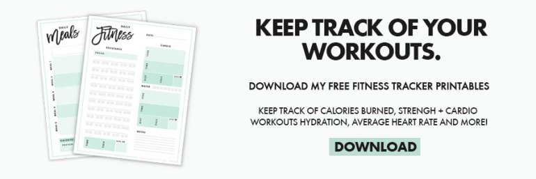 20-Minute At Home Leg and Butt Workout | Download Free Fitness Trackers
