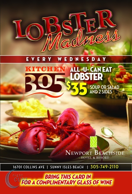 South Florida Nights Magazine  Lobster Madness Wednesday