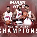 2012 NBA Champions Miami Heat Parade