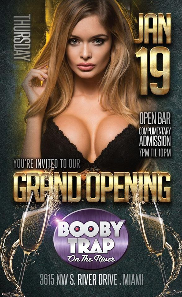 South Florida Nights Magazine Booby Trap On The River Grand Opening