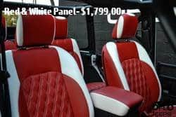 Red & White Panel- $2,499.00
