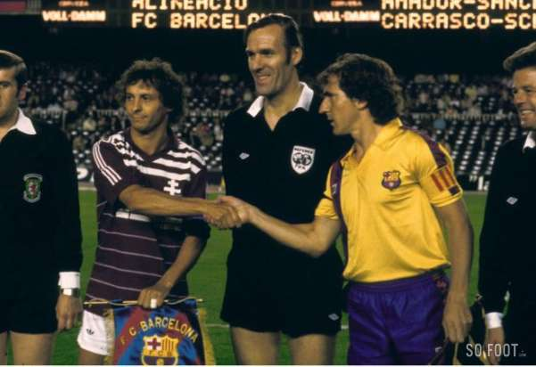Image result for Barcelona vs Metz October 1984