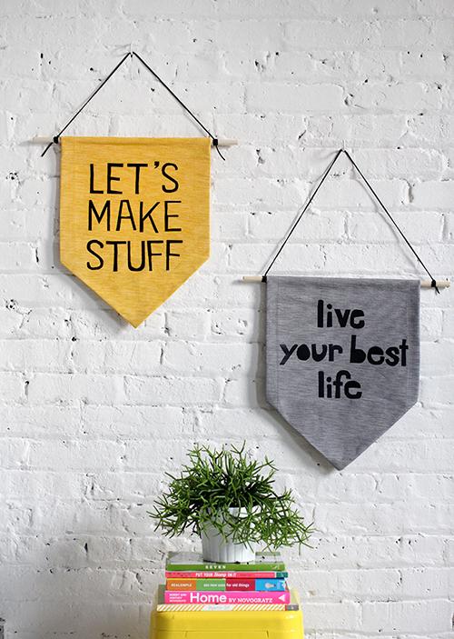 8 DIY Gift Ideas that are Stylish, Affordable and Easy! // So Fresh & So Chic for Allyn Lewis // www.allynlewis.com #diygifts #diyhangingbanner #diygiftideas