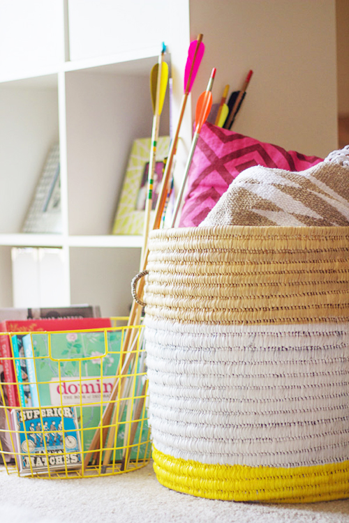 8 DIY Gift Ideas that are Stylish, Affordable and Easy! // So Fresh & So Chic for Allyn Lewis // www.allynlewis.com #diygifts #diypaintedbaskets #diygiftideas