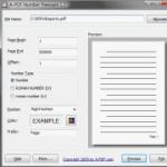 A-PDF Number:在PDF文件直接加上頁碼