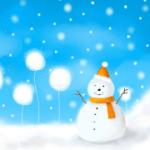 為網頁營造耶誕的下雪氣氛