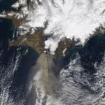 令人震撼的冰島火山灰空拍、實際影像