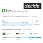 等不及,怕買貴!讓 Decide 告訴你購買電子產品的最佳時機