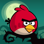 [Android遊戲] 憤怒鳥萬聖節版,有新的「橘鳥」唷~Halloween!