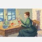 Google Doodle:居禮夫人(Medame Cuire)144歲誕辰