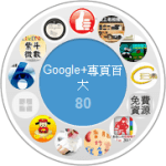 [Google+] 台灣百大 Google+ Pages 排名