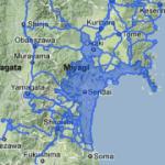 Google開放日本311地震/海嘯前後的災區街景對照網站