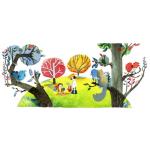 [Google Doodle] 植樹節,保護環境、防止地球暖化
