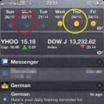iOS 5.0.1、5.1  bug?連點天氣圖示竟導致 iPhone 當機!