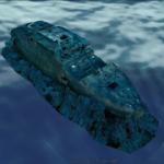 用Google地球看鐵達尼號3D高解析殘骸及航行路線