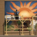[Google Doodle] Diego Rivera 墨西哥國寶級畫家125歲誕辰