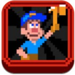 經典懷舊的 8-bit 復古小遊戲:Fix-it Felix Jr. (iPhone / iPad)