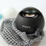 [開箱] Sony SRS-BTV5 NFC藍牙球型喇叭(含無線聽筒)