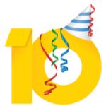 [快訊] 慶祝 Google Adsense 十週年推出網頁小遊戲
