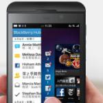 進擊的黑莓機 BlackBerry Z10 開箱評測
