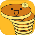 Pancake Tower 鬆餅塔堆堆樂,快來挑戰一下療癒感的鬆餅塔吧!