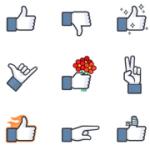 Facebook 終於如願推出「爛」按鈕?其實是新的聊天室貼圖啦!