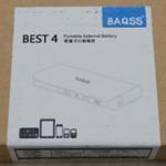 BAQSS BEST4 新改版10400mAh行動電源簡介及測試