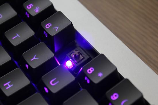 [COMPUTEX 2014] Ducky Mini 彩色背光鍵盤,輕鬆定義按鍵燈色 As1EF-550x366