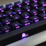 [COMPUTEX 2014] Ducky Mini 彩色背光鍵盤,輕鬆定義按鍵燈色