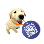 QR Code 寵物名牌,寵物晶片之外另一找回走失寵物的實用小物