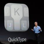 QuickType,iOS 8 鍵盤將會學習及預測將要輸入的字詞
