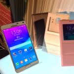 三星 Galaxy Note 4 強勢上市,自拍功能、S Pen 再升級! 售價 24,900 元 10/9 正式開賣