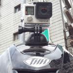 [開箱] GoPro 專用吸盤 BLACKBOLT BA10 小小一個超強吸附力