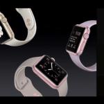 新色彩:Apple Watch 新推出金色與玫瑰金款