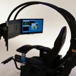 造價70萬的電腦椅,帝王蠍工作站