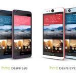 HTC進軍日本 SIM Lock Free 市場,首推 Desire EYE、Desire 626 高性價比手機