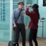 兩中國旅客機場爆衝突,女嗆:法律規定拿國產手機不能上飛機